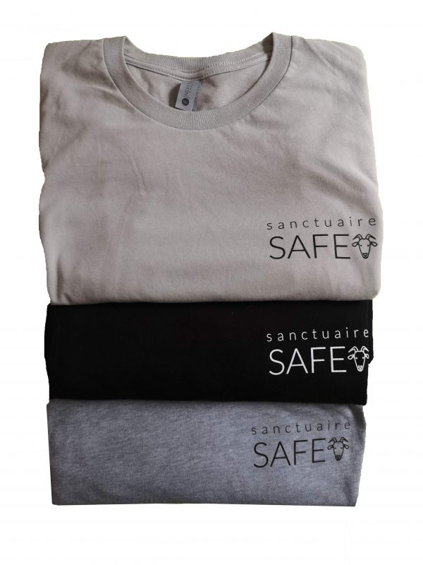 safe logo t-shirt